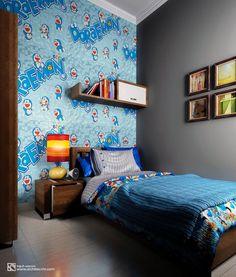 Arsitektur Desain Interior | Kamar Tidur | Bedroom | Banung' House Anime Fnaf, Beautiful Bedrooms, Korean Style, Iphone Wallpaper, Diy And Crafts, Interior Design, Decoration, House, Furniture