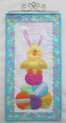Quilted Skinnies Easter Chick Kit