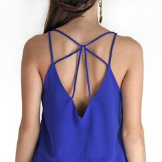 Blusa Rio - azul royal