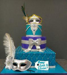 masquerade cakes - Buscar con Google