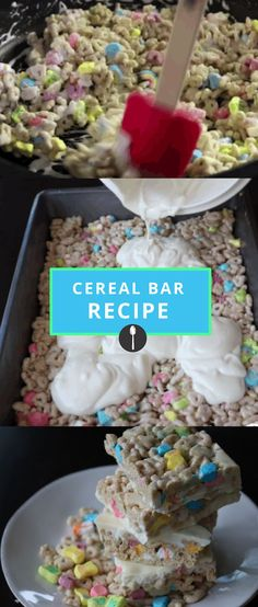 Turn your favorite cereal into an easy to carry bar with this easy recipe.
