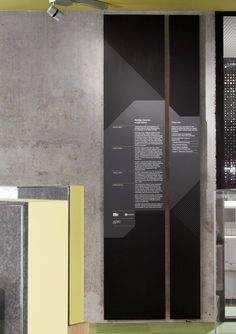 Bendigo Library wayfinding by Hofstede Design (building by MGS Architects) Signage Board, Signage Display, Signage Design, Office Signage, Environmental Graphic Design, Environmental Graphics, Burger Bar, Architectural Signage, Wayfinding Signs