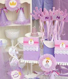 Mesa de dulces princesita sophia