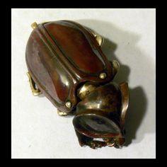 Bob Burkett's  Amazing Shibuichi Scarab Beetle.