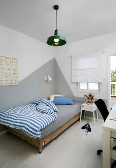 Nice 32 Latest Children Bedroom Design Ideas To Have Asap. Boys Bedroom Paint, Home Decor Bedroom, Bedroom Wall, Bedroom Furniture, Kids Bedroom Designs, Teenage Room, New Room, Room Inspiration, Design Ideas
