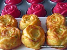 Mafini s tikvicama Albanian Recipes, Croatian Recipes, Kiflice Recipe, Parmesan Roasted Cauliflower, Macedonian Food, Good Food, Yummy Food, Fun Food, Tasty