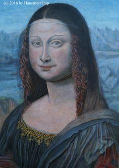 Mona Lisa, Gallery, Artwork, Artist, Painting, Work Of Art, Roof Rack, Artists, Painting Art