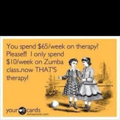 Used to be less than that..then I moved and got the DVDs! Still comes out cheaper than $65/week therapy :P