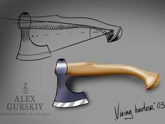 Mail - rlfields331@msn.com Cool Knives, Knives And Tools, Knives And Swords, Blacksmithing Knives, Hand Axe, Axe Handle, Tomahawk Axe, Knife Patterns, Viking Axe