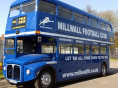 Former London RML 2304 (CUV 304C) now Millwall FC's Blue Bus.