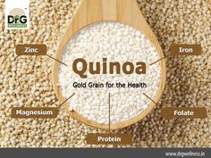 Do you know about the dietary benefits of #Quinoa? Loaded with lots of nutrients, they are one of the best food sources to be included in your diets!
