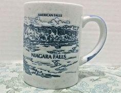 "Niagara ""American"" Falls Coffee Mug New York Souvenir Waterfall Natural Wonder"