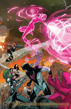 Guardians of the Galaxy n°13 (Trial of Jean Grey) - Art & cover by Sara Pichelli