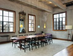 We like this idea: mixing glass pendants of different colors, shapes, and sizes.
