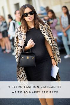 Well I'm happy about some...not all...Micro bag for sure though! ~~ 9 Retro Fashion Statements We're So Happy Are Back via @PureWow