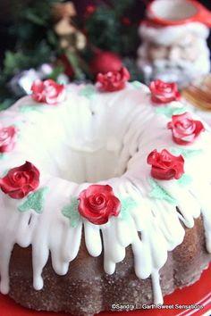 Kentucky Butter Cake ~ #BundtBakers Kentucky Butter Cake, Simple, Sweet, Desserts, Christmas, Sugar, Candy, Tailgate Desserts, Xmas