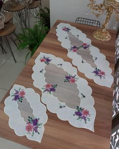 Table, Furniture, Home Decor, Ideas, Drive Way, Embroidery, Decoration Home, Room Decor, Tables