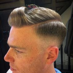 Wake Up and Smell the Barbicide Cool Haircuts, Haircuts For Men, Men's Haircuts, High Taper, Pompadour, Barber, Hair Cuts, Hairstyle, Photo And Video