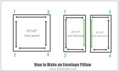 Follow these easy instructions for the perfect goof-proof pillow every time—for less than $3 per pillow.