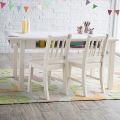 Classic Playtime Vanilla Deluxe Activity Table with Free Paper Roll - LFY142-