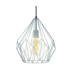 This is a one light ceiling pendant from the Carlton range by Eglo. The 49259 is a vintage mint green ceiling pendant. Pendant Lighting Bedroom, Ceiling Pendant, Interior Lighting, Home Lighting, Modern Lighting, Ceiling Lights, Light Fittings, Light Fixtures, Cage Pendant Light