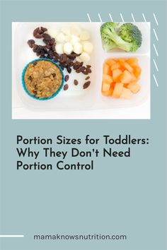 This is a helpful guide on portion sizes for kids and toddler portion sizes so you know how much to feed your toddler, and how much is too much for toddlers! #toddlerportions #toddlerfood #parentingtips Healthy Meals For Kids, Kids Meals, Toddler Nutrition, Registered Dietitian Nutritionist, Portion Sizes, Portion Control, Toddler Meals, Toddlers, Breakfast
