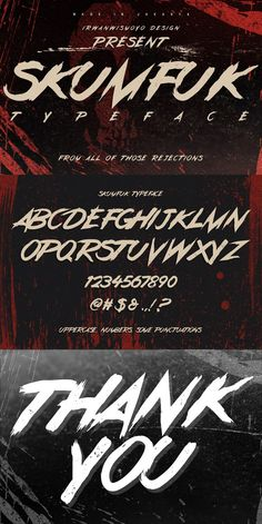 Skumfuk Typeface Inspired by the rebel youngsters soul that rejected by the most of people, but the truth is they have some potential but people underestimate Cool Typography, Typography Fonts, Graphic Design Typography, Lettering Design, Creative Fonts, Cool Fonts, Poster Design Software, Handwritten Fonts, Cursive Calligraphy