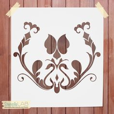 Try our Damask Pattern Reusable Stencils and see just how easy it is to reimagine the space around you! With large and small print options to flatter any size room or surface, our damask stencil allow