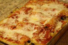 Portobello & Spinach Lasagna Rolls - If I can make this, anyone can