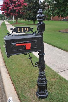 Wrought Iron Mailbox