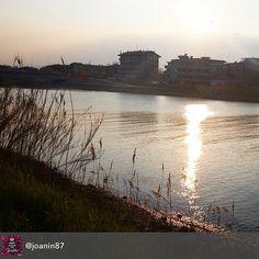 Lungofiume degli artisti - Rimini al tramonto #rimini #myrimini #raccontarimini  #comunerimini @assaggidivini #solocosebelle #vivorimini #vivo_italia #ig_rimini_  #storytelling #4 #rimining #succedesoloarimini #regram di @joanin87