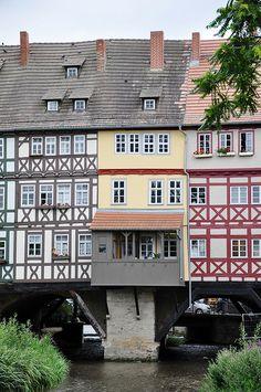 Krämerbrücke, Erfurt, Thüringen, Germany