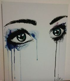 Watercolor Eye Painting by YOUREYESAREdaBEAUTY on deviantART