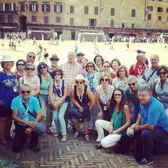 """Tour Guide Siena su Twitter: """"Visitando #siena com o sindicato dos professores…"""