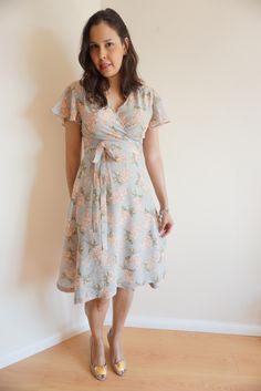 Sew Over It Eve Dress in beautiful silk | Sleepless in Bavaria