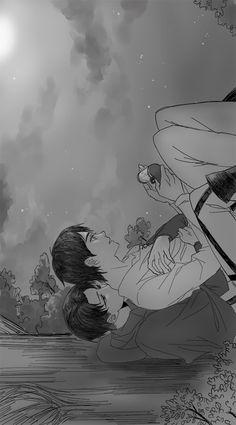 Eren, Levi, Attack on Titan, Shingeki no Kyojin ereri riren rivaere
