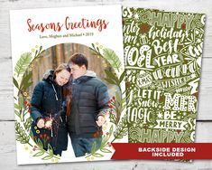 Items similar to Modern Christmas Wreath Photo Card, Christmas Photo Card Funny PRINTABLE Photo Holiday Cards, Photo Cards Christmas Holiday Cards Photo on Etsy Christmas Photo Cards, Holiday Cards, Christmas Holidays, Christmas Wreaths, Happy Love, Modern Christmas, Christmas Printables, Family Photos, Merry