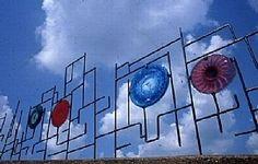 Maze of Light by Thomas Spake Glass & Steel ~ 7' x 60'