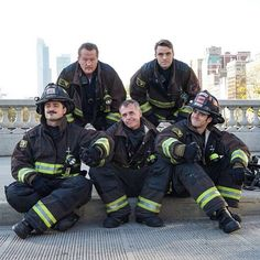 This squad is straight FIRE. #ChicagoFire