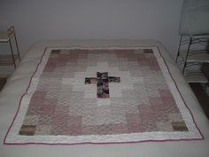 cancer quilts | Quilting Ideas | Project on Craftsy: Cross Quilt