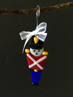 Items similar to Fused Glass Soldier on Etsy