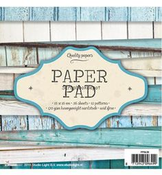 Studio Light paper pad SL39