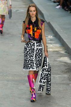 Défilé Chanel Printemps-été 2015 Prêt-à-porter   Le Figaro Madame