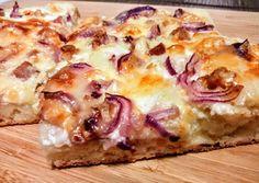 Taco Pizza, European Cuisine, Hawaiian Pizza, Food Videos, Baked Goods, Food To Make, Cake Recipes, Bakery, Easy Meals
