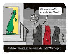 SPAM Cartoons Möge der Witz mit Dir sein - SPIEGEL ONLINE - Spam