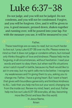 Luke – Letting His Light Shine Prayer Times, Prayer Scriptures, Bible Prayers, Faith Prayer, God Prayer, Bible Verses Quotes, Faith Bible, Bible Teachings, Forgiveness Prayer
