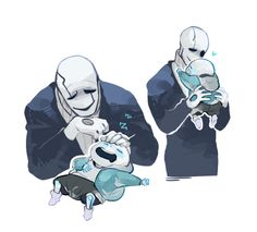 Undertale - Gaster the Father Source: Papaster!