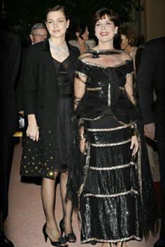Prinses Caroline en Charlotte