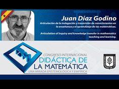 Conferencia Juan Díaz Godino (España) Día 3 Congreso Internacional Didác...