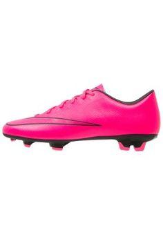 MERCURIAL VICTORY V FG - Fotbollsskor fasta dobbar - hyper pink/black